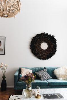 More On Fashiioncarpet Wohnzimmer Einrichtung Samt Sofa Couch Aus