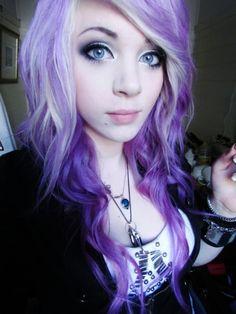 Heck Yes Purple Hair
