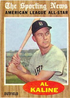 Al Kaline 1962 Outfield - Detroit Tigers  Card Number: 470