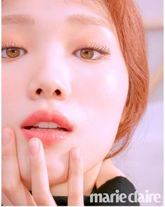 Lee Sung Kyung looks gorgeous in the September issue of Marie Claire, modeling different lip colors from Laneige. Asian Actors, Korean Actresses, Korean Actors, Actors & Actresses, Marie Claire, Lee Sung Kyung Photoshoot, Sung Hyun, Kim Book, Kang Jun