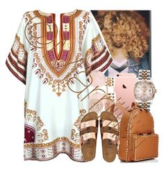 A fashion look from April 2016 featuring suede sandals, day pack backpack and rolex crown. Browse and shop related looks. Lit Outfits, Urban Outfits, Fashion Outfits, Gold Birkenstocks, Spring Summer Fashion, Spring Outfits, Dressed To Kill, Hot Dress, College Outfits