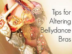 Tips for Altering Bellydance Bra Tops