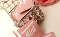 """""""Mint to be"""" - cute mint packaging via INK AND PAPER"""