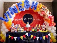 Looney Tunes Tazmanian Devil themed birthday party via Kara's Party Ideas KarasPartyIdeas.com #looneytunestazmaniandevilparty (13)