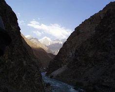 Kokcha River at Sar-e-Sang area
