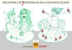 """Concurso Cervecear. """"Encuentra las 7 diferencias"""". Categoría Gráfica."""
