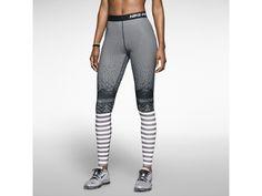 Nike Pro Hyperwarm Engineered Print Women's Training Tights