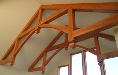 Hammer beam trusses