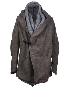 coat, knit layer - isabel benenato