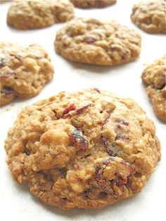 Oatmeal and Flax Cranberry Cookies: step-by-step directions and tips.
