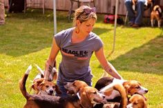 """""""These beagles were recently liberated from an animal testing lab by the amazing Beagle Freedom Project where they had been experimented on for at least 5 years, in other words, their entire lives."""""""