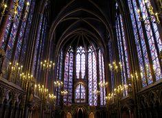 St. Chapelle Cathedral, Paris