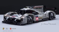 """LEGO Technic - Porsche 919 - Le Mans 2015 v."" by Manuel Nascimento: Pimped from Flickr"