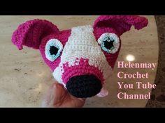 Crochet Amigurumi Pitbull Dog Addendum Part 2 of 2 DIY Video Tutorial