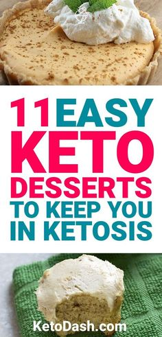 It can be a problem if you have a sweet tooth and are on the ketogenic diet. Luckily, there are keto dessert options for you. Here are 11 keto desserts that are going to help satisfy your sweet tooth.