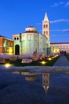 St. Donatus church, 9th century / Zadar   Croatia (by Ivo Sisevic Sisko Photography)