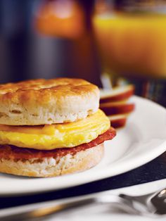 Breakfast sandwiches, waffles, scrambled eggs, sausage, biscuits & gravy, yogurts, fresh fruit and more!