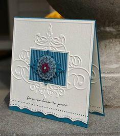 embossed card.