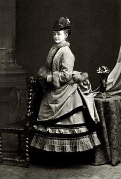 Princess Louise Margaret of Prussia, later Duchess of Connaught. Circa 1873