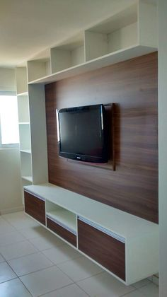 Modern Tv Room, Modern Tv Wall Units, Tv Unit Decor, Tv Wall Decor, Wall Tv, Tv Wanddekor, Tv Unit Furniture Design, Tv Wall Cabinets, Living Room Tv Unit Designs