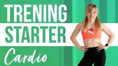CARDIO STARTER 2 to trening dla każdego, kto dopiero zaczyna ćwiczyć. Odpowiedni dla początkujących i osób bez kondycji, mogą go wykonywać także osoby z dużą nadwagą. Ćwiczenia są bezpieczne, nie zawierają podskoków i nie obciążają kolan. Nie masz maty? To żaden problem, w tym treningu nie będzie Ci potrzebna! To świetny zestaw dla osób, które zaczynają odchudzanie - zbuduj kondycję, żeby przejść do trudniejszych treningów! Powodzenia! Cardio, Bra, Fitness, Sports, Youtube, Hs Sports, Bra Tops, Sport, Youtubers