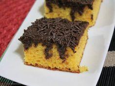 Receita de Bolo de Cenoura com Chocolate