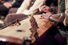 Kazakh folk musical instrument