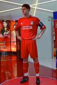 Liverpool's Steven Gerrard at Madame Tussauds Bangkok