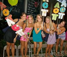 Alpha Omicron Pi at University of Florida #AlphaOmicronPi #AOII #BidDay #sorority #AOII