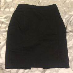 Pencil Skirt! Sleek, professional pencil skirt from H&M.com. Size 6 but fits like a 2-4 so it was too small for me. H&M Skirts Pencil