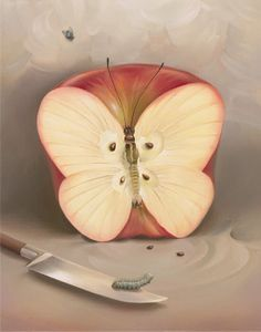 Wonderful artworks of Russian artist Vladimir Kush - Ego - AlterEgo
