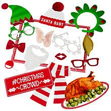 Buy Talking Tables Christmas Crowd Photo Booth Props Online at johnlewis.com