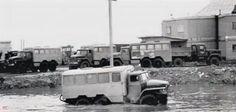 1980-е Урал-вахтовки