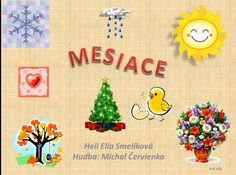 MESIACE Slovak Language, My Roots, Science Experiments, In Kindergarten, Diy Tutorial, Art For Kids, Homeschool, Education, Learning