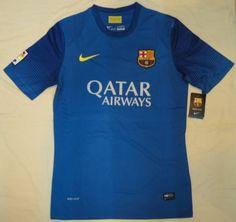 13-14 wholesale Barcelona Blue Training Jersey Shirt