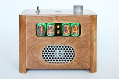 Nixie Ramos Alarm clock that MAKES you get out of bed as the only way to silence it is to punch in a deactivation code in a remote location.