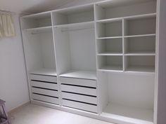 Simple Bedroom Design, Bedroom Closet Design, Wardrobe Design, Closet Designs, Bedroom Decor, Master Closet, New Room, House Design, House Styles