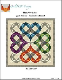 Heartwaves - Wedding Quilt
