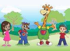 """הג""""ירף שבלב Giraffe, Preschool, Family Guy, Guys, Fictional Characters, Art, Art Background, Felt Giraffe, Kid Garden"""