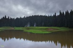 Golf Courses, River, Tools, Mountains, Nature, Outdoor, Park, Outdoors, Instruments