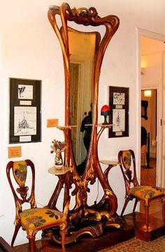 art-noveau-love: Art Nouveau interiors