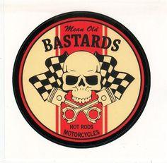 Mean old bastards hot rod skull logo                                                                                                                                                                                 Mais
