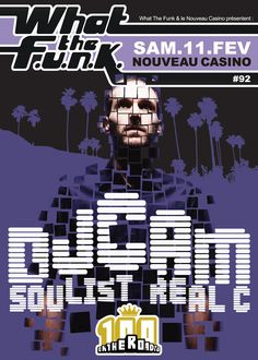 wtf#92 : DJ Cam - 11/02/2012 (by Freeworker)