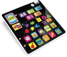 Kidz Delight, Kidz Delight Tech Too Smooth Touch Fun N Play Tablet Kidz Delight tablet requires 2 AA batteries (included). This kids' toy tablet is bilingual and speaks in both English and Spanish. Best Tablet For Kids, Kids Tablet, Toddler Toys, Kids Toys, Baby Toys, Children's Toys, Toddler Fun, Baby Play, Finding Nemo
