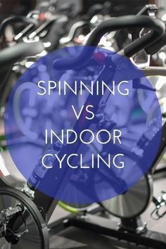 Spinning vs Indoor Cycling- What is the Difference?