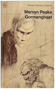Gormenghast Trilogy by Mervyn Peake  Peake's own illustrations