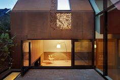 Architecture projects featuring Corten steel, a brand of weathering steel with a rusted finish, including houses, museums, hotels and more. Architecture Renovation, Architecture Résidentielle, Attic Renovation, Attic Remodel, Steel Cladding, Wall Cladding, Weathering Steel, Corten Steel, Grand Designs