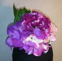 Ramillete en tonos lila