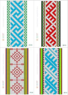 Inkle Weaving Patterns, Loom Weaving, Knitting Patterns, Crochet Patterns, Card Weaving, Tablet Weaving, Inkle Loom, Tapestry Bag, Beading Patterns