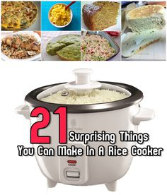 21 Surprising Things You Can Make In A Rice Cooker